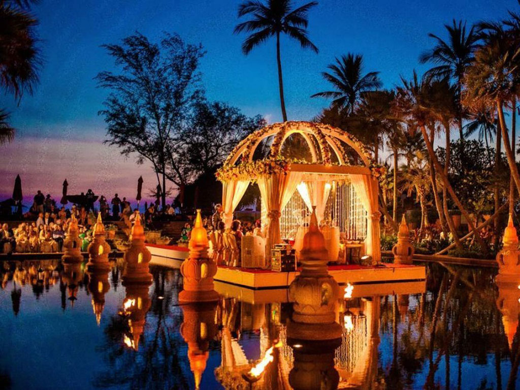 Beachfront Indian Wedding Thailand